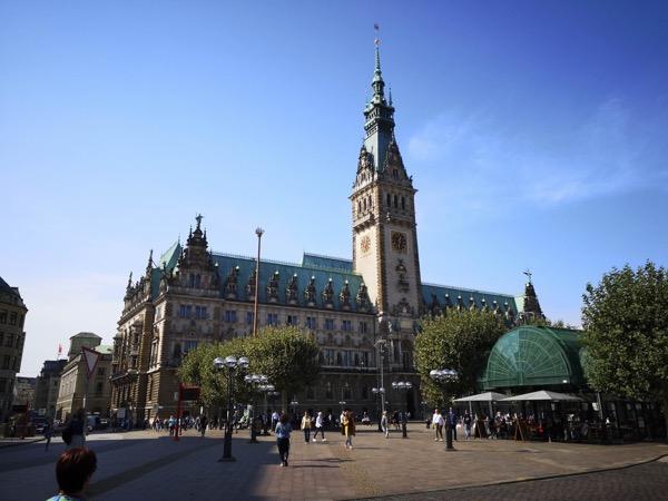 Visite d Hambourg belle ville
